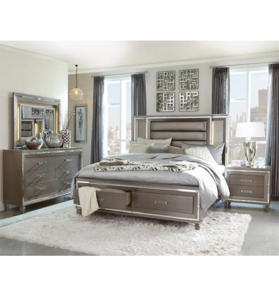 GLAMOUR KING BED