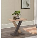 Morpheus Rustic End Table