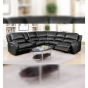 Draper Sectional, Power Recliners and Extra Wide Seats