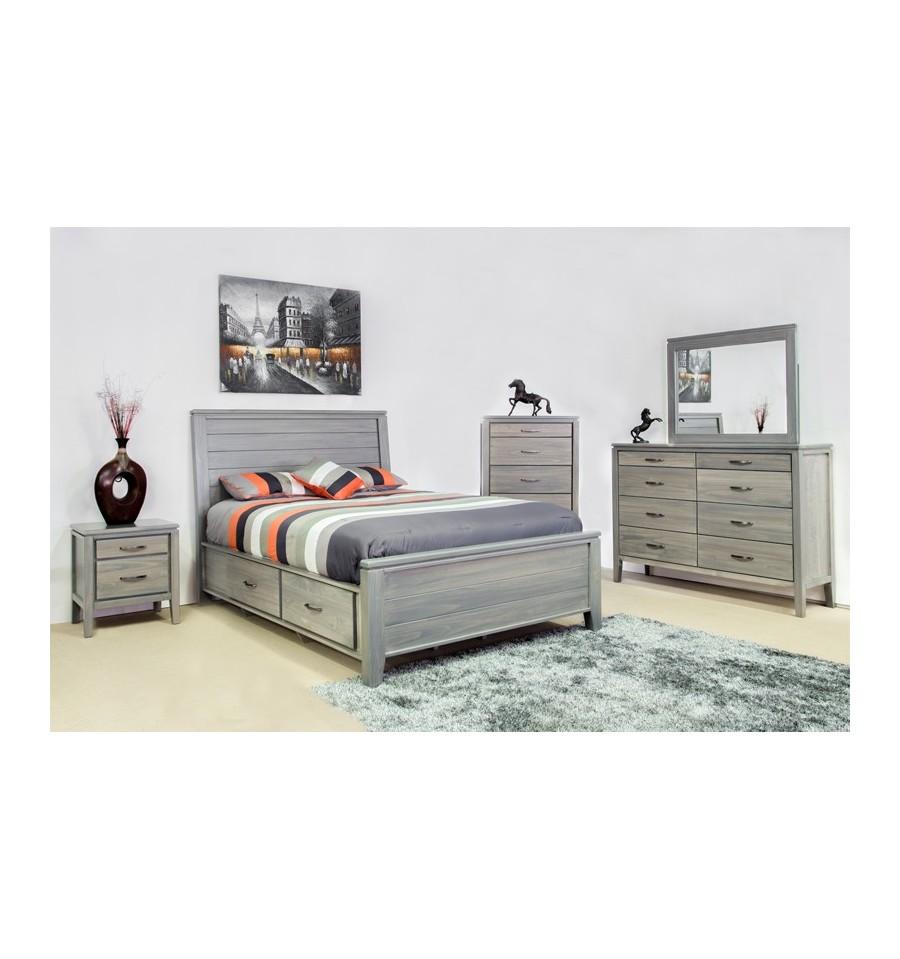 Vanessa bedroom set furniture superstore edmonton for Bedroom furniture edmonton