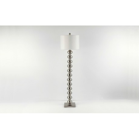 Metal Bulbous Floor Lamp