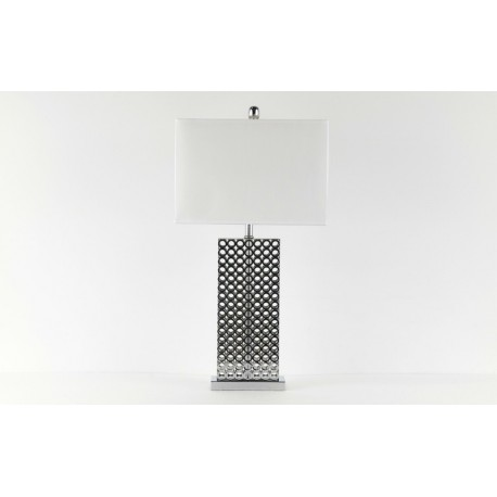 Metal Ring-Mesh Table Lamp
