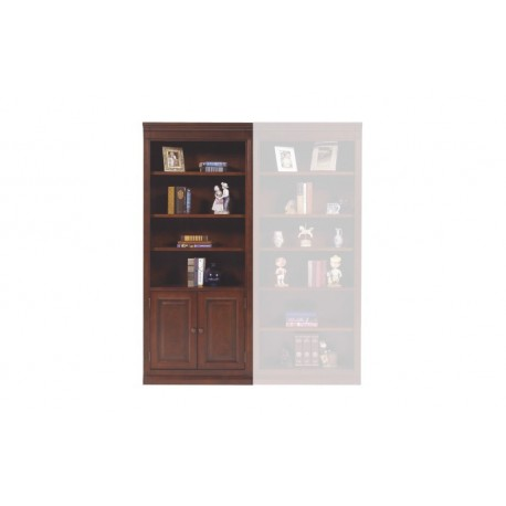 Classic Cherry Bookcase with Door