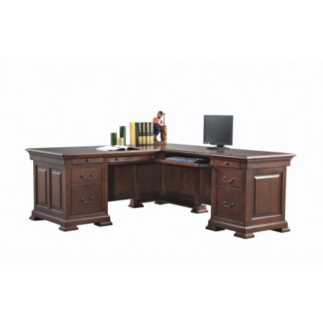 Classic Cherry Desk with Return