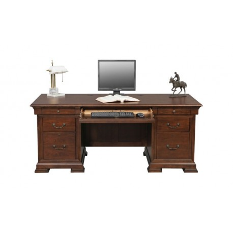 Classic Cherry Flattop Desk