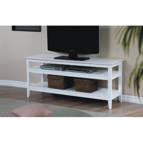Quadra White 53 inch Media Stand
