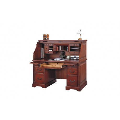 Country Cherry Rolltop Desk