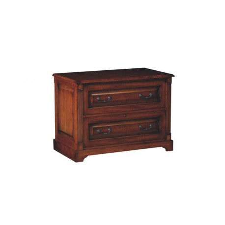 Country Cherry 2-drawer Lateral File
