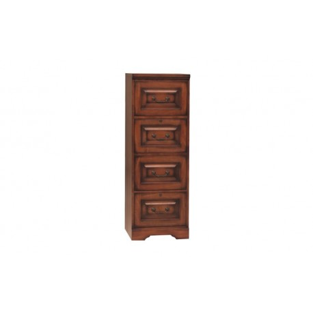 Country Cherry 4-drawer File