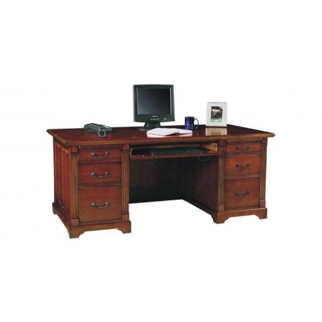 Country Cherry 72 inch Desk
