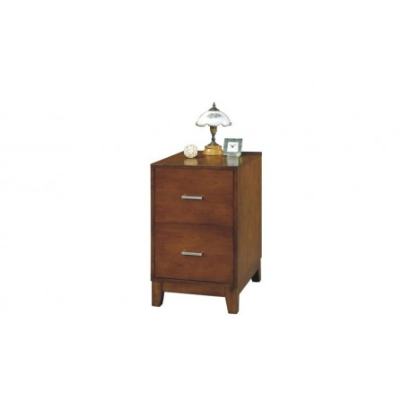 Kingston Walnut 18 inch 2 Drawer File