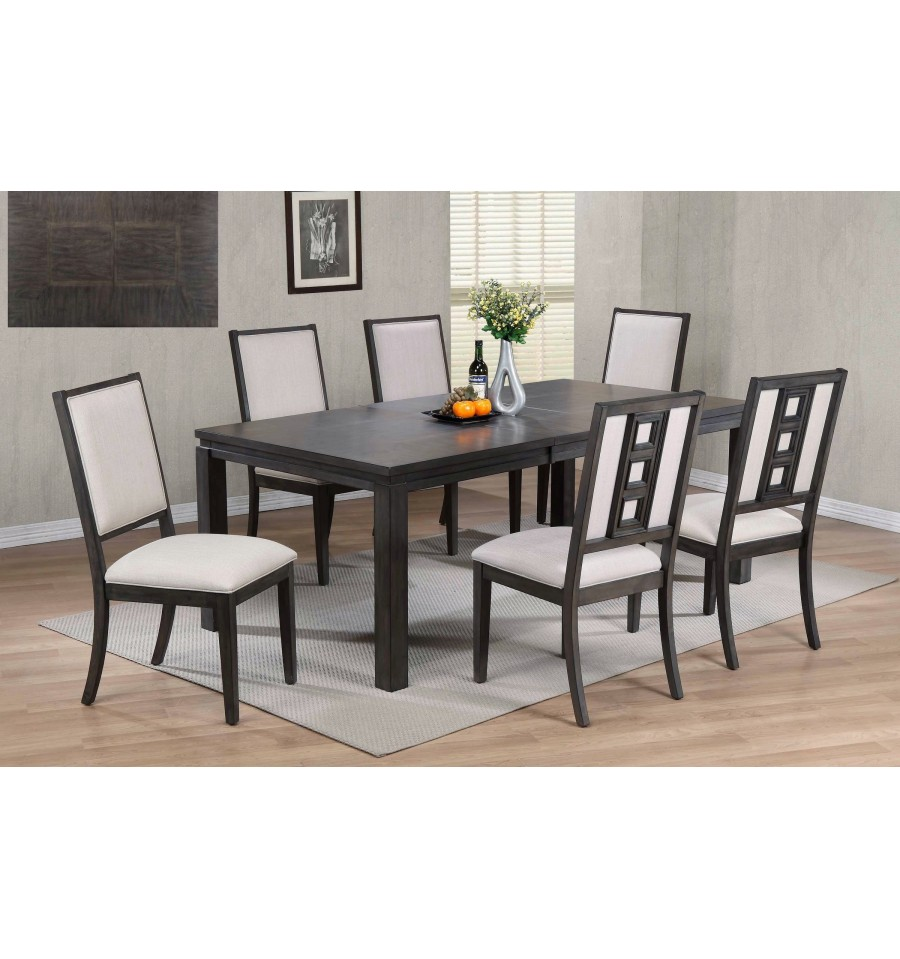 MOBY 7 PIECE DINING SET