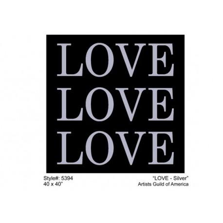 LOVE - SILVER