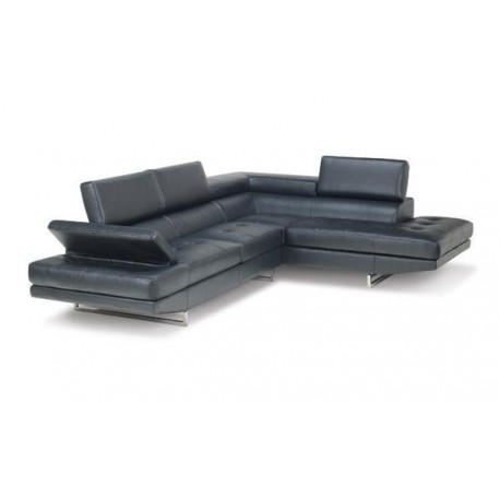 ZUO BLACK SECTIONAL
