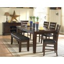 SADIE DARK OAK DINING ROOM SET
