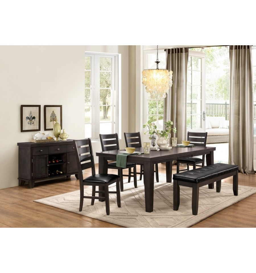 SADIE GREY DINING ROOM SET