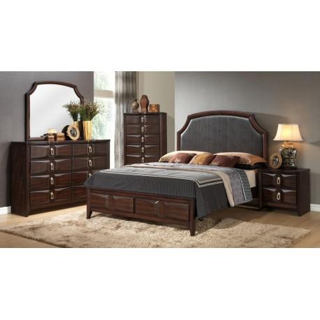 KATRINA 8 PIECE QUEEN BEDROOM SET