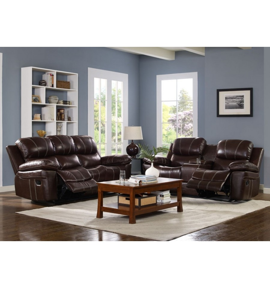 Genuine Leather Sectional Sofa Canada: Furniture Superstore Edmonton