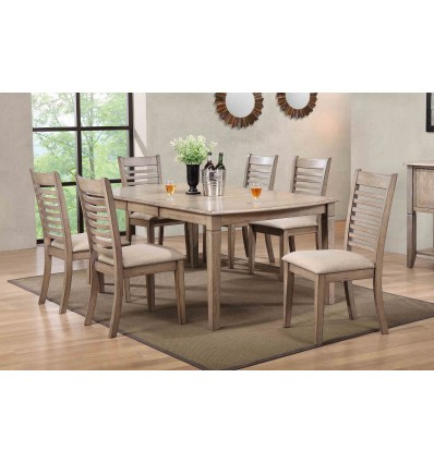MALIBU 7PC DINING SET