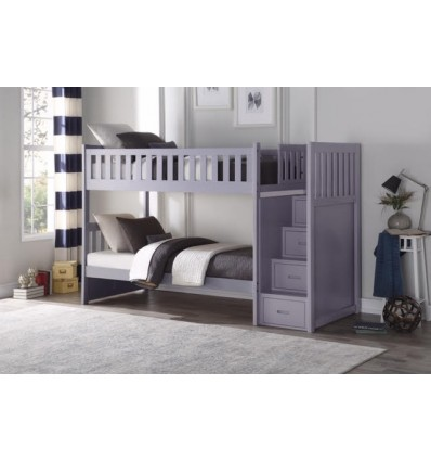 Kelly Grey Step-Up Bunkbed