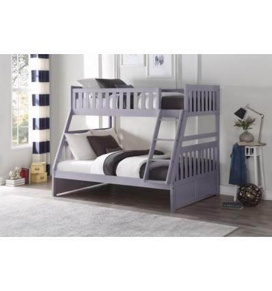 Kelly Grey Bunkbed Twin /Full