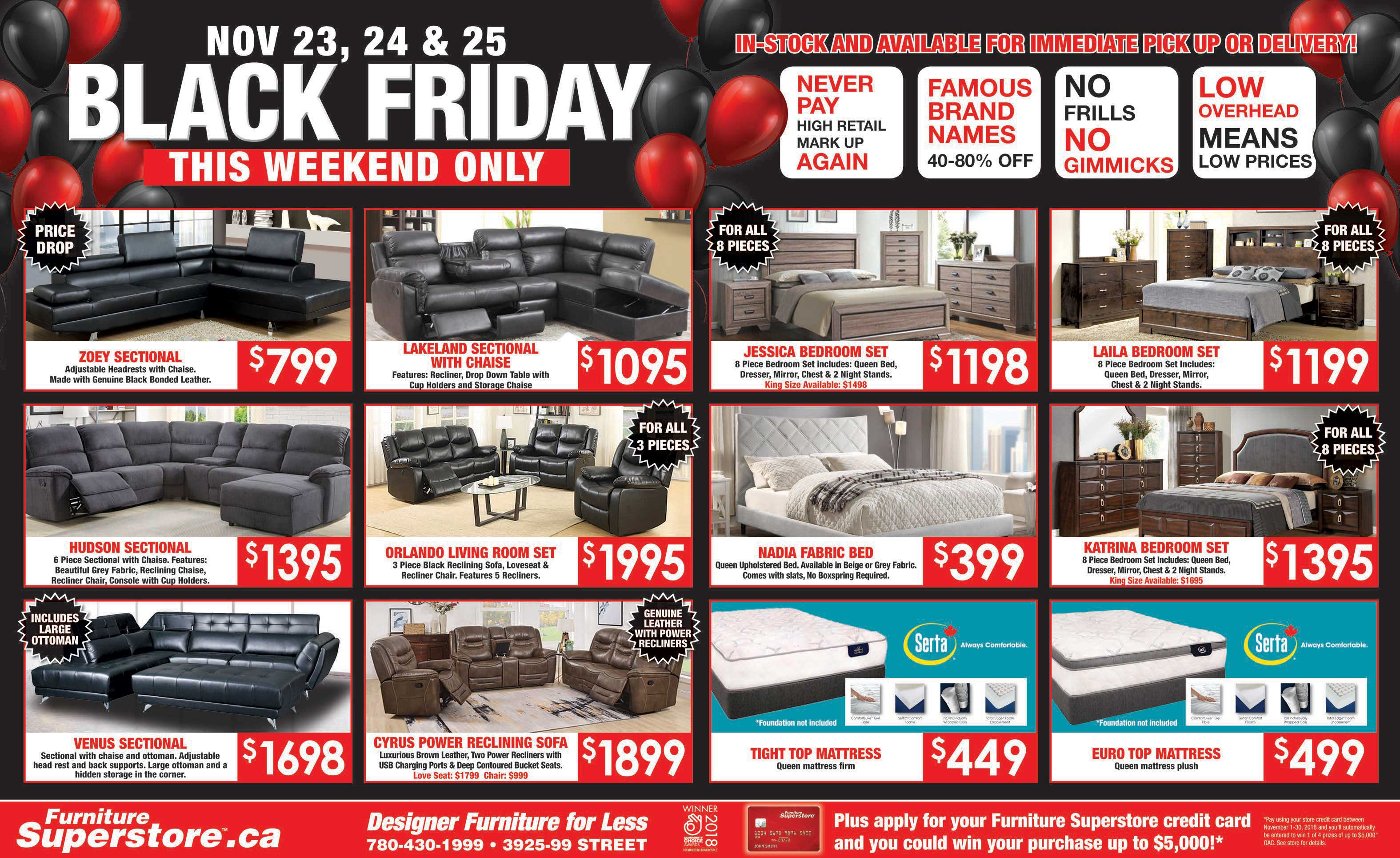 Furniture Superstore Black Friday Fyler