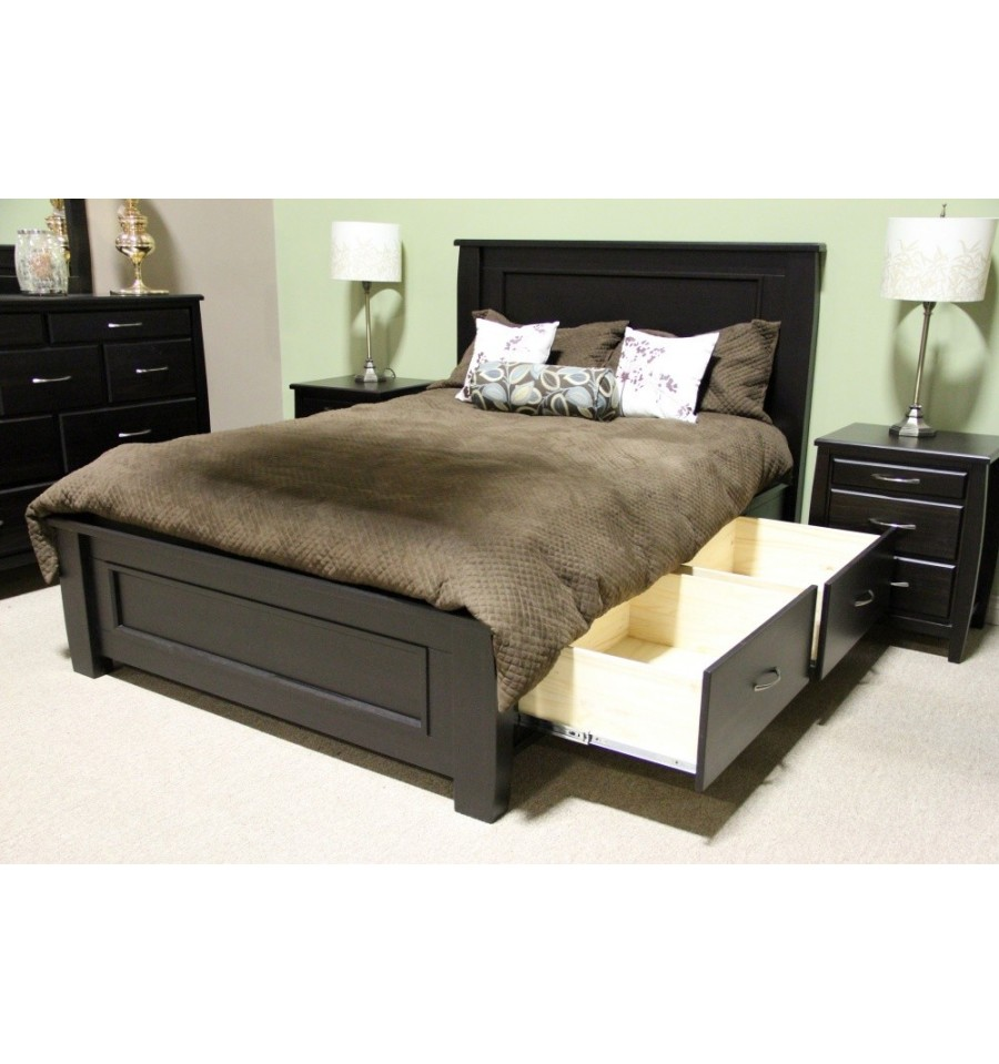 Boyd Queen Storage Bed - Furniture Superstore Edmonton Alberta Canada